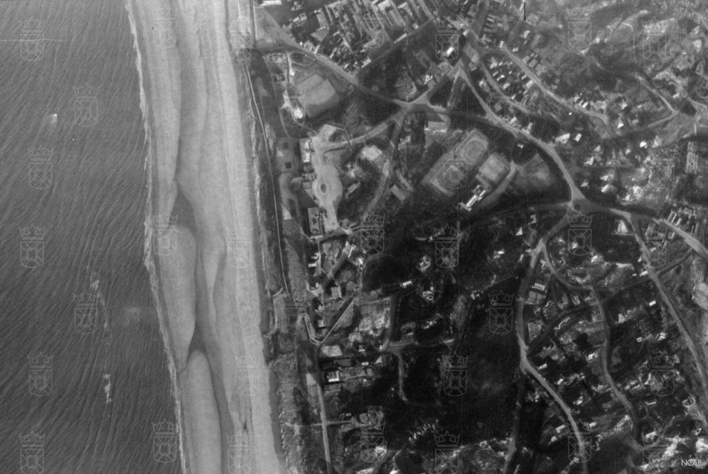Omgeving Huis ter Duin in december '43.