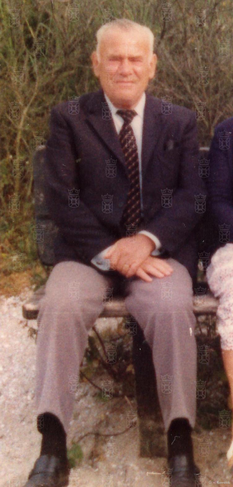 Karl Dittmann op latere leeftijd.