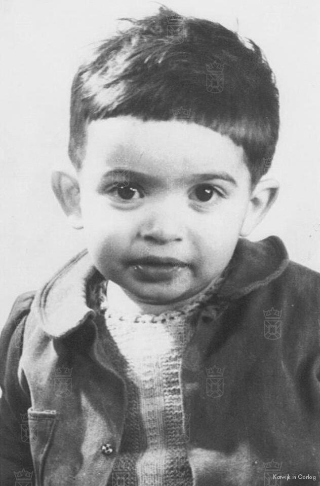 Michiel Adriaan Belinfante, 2 jaar oud, werd op 25 oktober 1944 om het leven gebracht in Auschwitz.