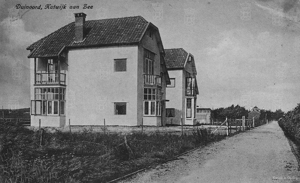 De woning van familie Belinfante aan de Zeeweg 133.