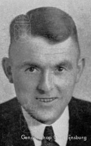 Ds. Van der Loo, één van de Rijnsburgse gijzelaars.