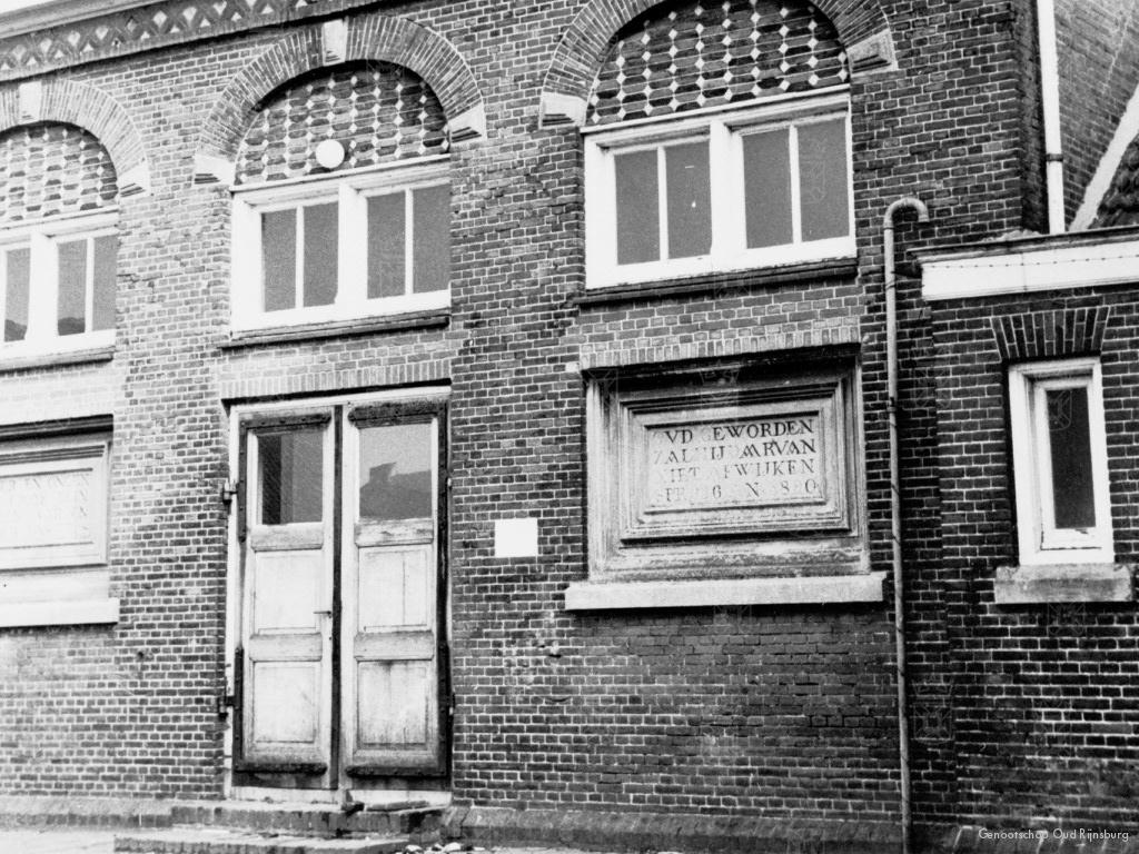 De gesneuvelden worden opgebaard in de Vlietschool.
