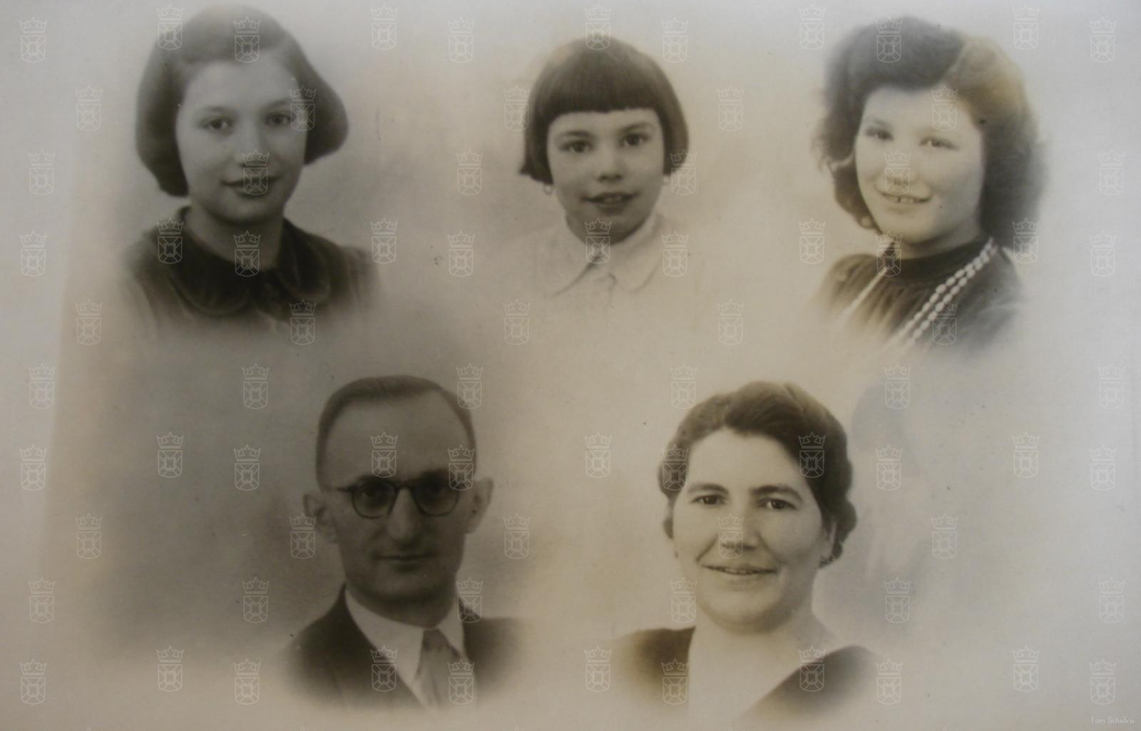 Het gezin Schelvis.