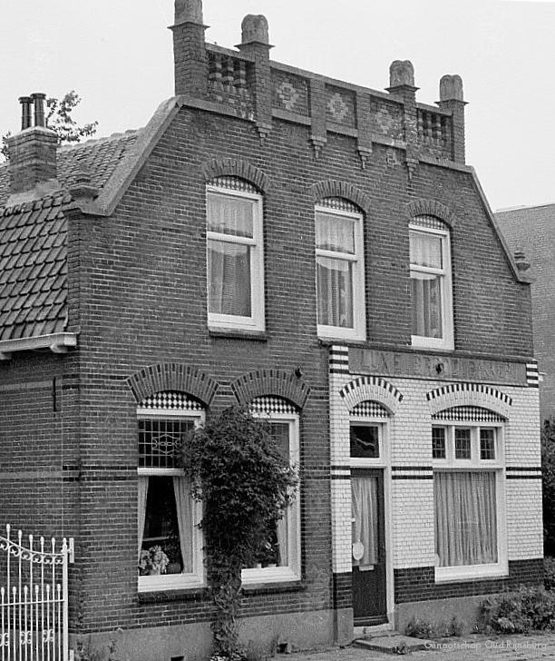 De bakkerij van Simon Leenheer in de Smidstraat.