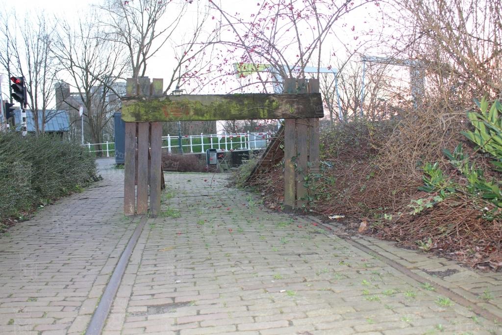 Het laatste restant van het Station aan de Heerensingel anno 2016.
