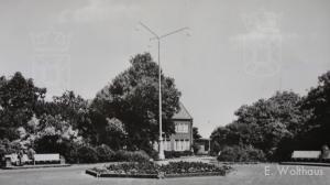 Het toenmalige Wintertuinplein op de Dr. Mr. Willem van den Bergh-Stichting.