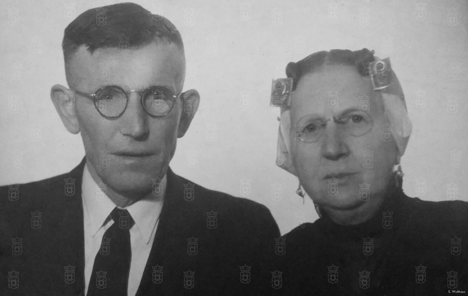 Cornelis en Dirkje Harteveld.