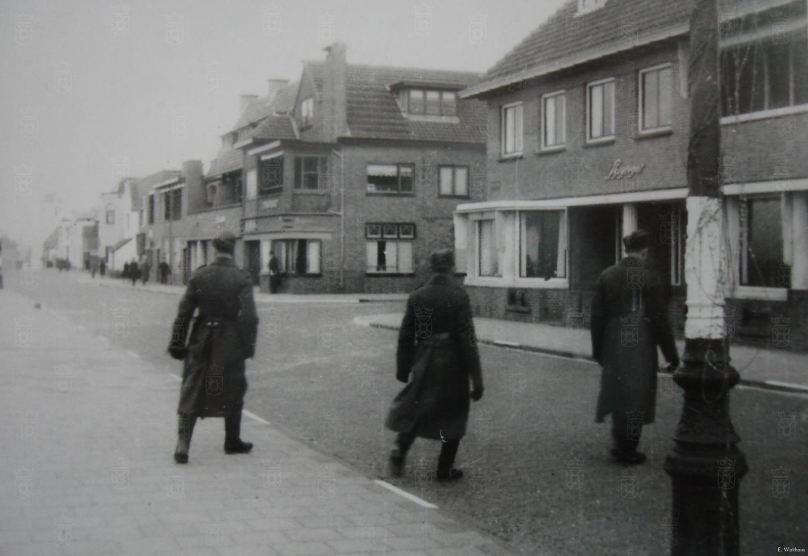 Huize Skuytegat tijdens de oorlog.
