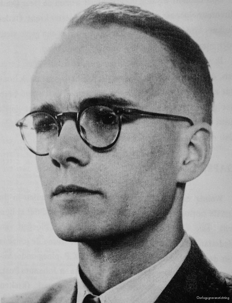 Pieter Maaskant, die doodgeschoten werd tijdens te overval.